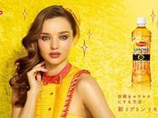 Miranda Kerr pour Lipton japon