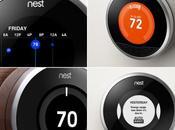 Nest thermostat intelligent, communicant autonome