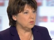 Martine Aubry besoin gauche réussisse serai pour accompagner»