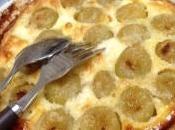 raisin dessert entre clafoutis gratin