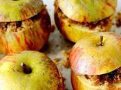 Pommes four, coeur pain d'épice