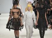 Fashion week Alice Dellal défile pour Hogg