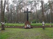 Inauguration d'un cimetière militaire polonais pour victimes l'Union Soviétique Ukraine