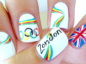 ongles couleurs Jeux Olympiques