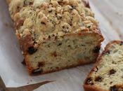 Cake crumble poires noisettes raisins secs