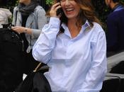 chemise Mlle Agnes défilé Balenciaga glam