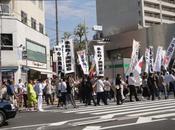 Manifestation japonaise contre Chine septembre 2012