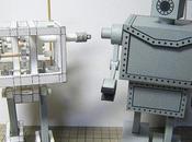 Paper Robot marche