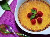 Crème brûlée Basilic Framboise