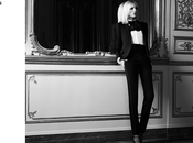 Anja Rubik Saint Laurent Paris