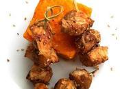 Recette légère Poulet teriyaki patate douce