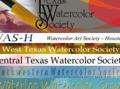 Aquarellistes américains Carnet liens Partie Texas American watercolorists Links book