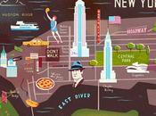 Cartographie illustrée Owen Gatley Illustration