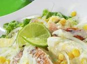 Salade Caesar (César) poulet fumé