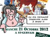 Dédicaces foire Saint Gervais 21/10/12