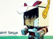 Papercraft Saint Seiya
