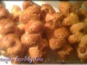 Caterpilar bread (Pains knackis)