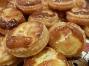 Mini tartelettes lardon/camembert