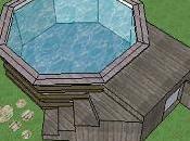 mini piscine bois sans autorisation