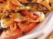 Méli-mélo Saint-Jacques légumes grillés