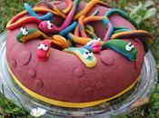 Gâteau serpents