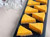 Cheesecake potimarron, chèvre frais ciboulette...sans oeufs light