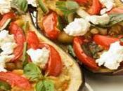 Bruschetta aubergine style Napoli recette