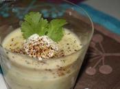 Velouté panais épices, crème piment d'espelette
