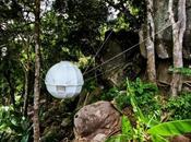 Cocoon Tree Bed, entre tente cabane dans arbres
