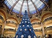 Swarovski signe sapin Noël géant Galeries Lafayette