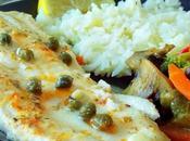 filet poisson four Sole légumes sautées