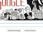 Google Doodle Dracula l'honneur