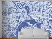 reproductions murales géantes cartes personnalisées Wallpapered Carto Déco