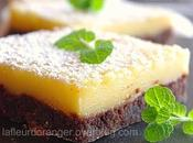 Lemon bars (citron chocolat)