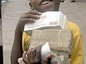 Zimbabwe ans, deuxième plus grande hyperinflation monde