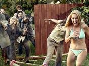 zombies sont sortis Tous armes, tous chez Superbe publicité
