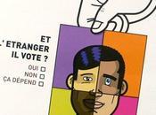 droit vote étrangers Hollande seul devant tribune d'EELV
