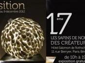 sapins Noël créateurs l'Hôtel Salomon Rothschid jusqu'au dimanche décembre