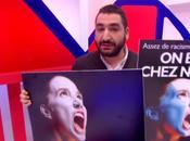 """L'affiche jeunes dénonçant """"racisme anti-français"""" montre visage d'une femme russe"""