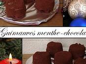 Guimauves menthe-chocolat