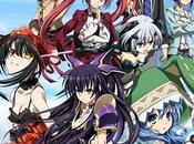 L'anime Date Live, daté Japon