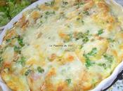 Gratin chips /jambon (halal) /petits pois mozzarella