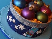 gâteaux pour Noël décorés pâte sucre {idées}