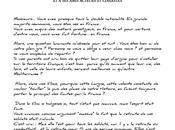 Lettre ouverte Jamel Debbouze