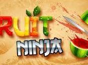 Partie Fruit Ninja réalité