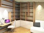 Conception espace bureau chambre