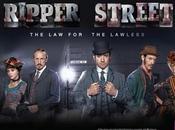 (Pilote Ripper Street crime period drama dans quartier encore marqué meurtres Jack l'Eventreur