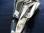 structure flottante hi-tech écolo