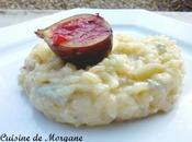 Risotto gorgonzola figues fraiches