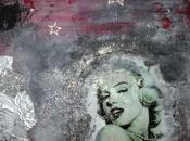 Tableau Mixed Média Marilyn Monroe